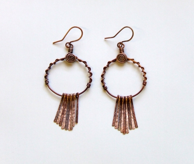 Modern tribe earrings