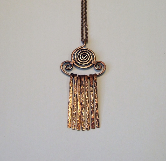 Sun god necklace