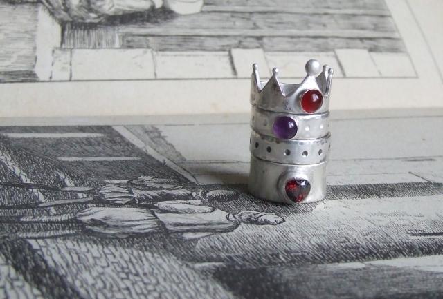 Crown Ring Stack
