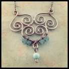 Silver Filigree Necklace