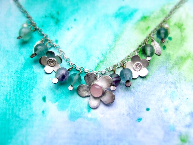 The Darling Buds of May Necklace