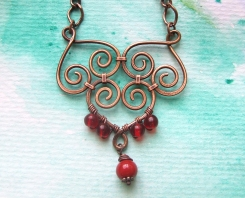 Filigree Red 1