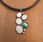 Silver & Labradorite Pendant