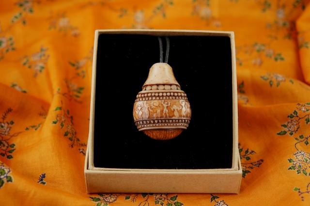 Tribal Pot Necklace